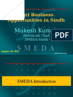 Presentation on Agri-Business Opportunities in Sindh by Mr. Mukesh Kumar, SMEDA.pptx