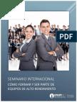 Hoja Informativa Seminario Internacional Alto Rendimiento Trujillo