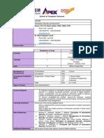 Course Planner - CST233