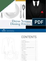 Dress Norms Dining Etiquette