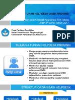 Pembentukan Helpdesk Unbk Provinsi