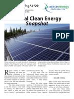 Watt's#129 Global Clean Energy Snapshot