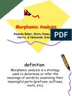 Vocabulary Morphemic Analysis Baker Haney Harris Haney