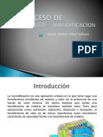 2.5 Proceso de Enfriamiento Humidificacion