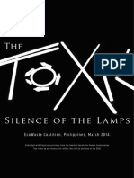 The Toxic Silence of the Lamps