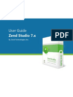 Zend Studio 7 User Guide v7 2