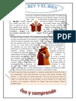 Lectura Reflexiva - El Rey y El Bien