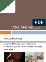 ANTIANÉMICOS