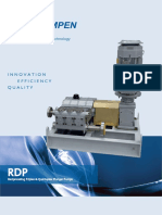 RDP Reciprocating Plunger Pump Brochure En