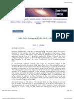 Introduction to Zero-Point Energy