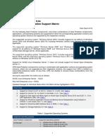 Platform Integrtn SupportMatrix