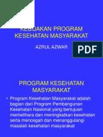 Kebijakan Program Kesehatan Masyarakat