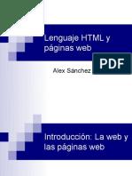 HTML Intro