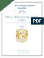 Coque, Coquización y Piedra Caliza
