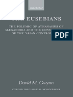 [David M. Gwynn] the Eusebians the Polemic of Athanasius