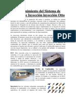 Mantenimiento Del Sistema de Admisión e Inyección Inyección Otto