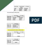 GC Timetable