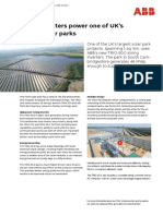 String Inverters Power Onr of UK's Largest Solar Parks