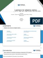 290617 Teledyne e2v Sensors for Adaptive Optics Wavefront Sensing