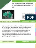 prospeccion geologica de esmeralda