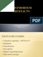 Postmortem Artefcts