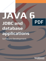 Jdbc and Database Applications