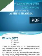 Ashish Sharma Gst