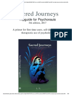 Tripguides for Psychonauts Sacred Journeys