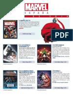 Boletín de novedades de mayo de 2018 - Marvel