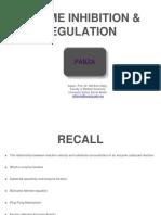 Enzyme Inhibition & Regulation