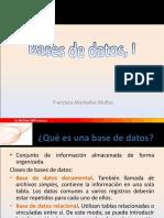 Bases de Datos, I