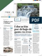 Educacion, Por Debajo de Gastos en Reos (30)