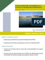 Audit de suivi de la Fondation des immeubles pour les organisations internationales
