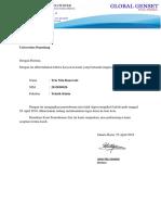 Surat Ijin Tugas