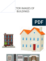 Vector Images of Buildings and Amsterdam Houses