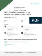 A NEW METHODOLOGY FOR VULNERABILITY ASSESSMENT OF SLENDER MASONRY STRUCTURES.pdf
