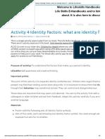 Activity 4 Identity Factors_ what are identity factors_ - Lifeskills Handbooks.pdf
