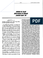 Terjemahan Tafsir Fi Zhilalil Oleh sayyid Qutb  Surah Al Fajr