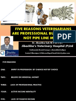 Five Reasons Veterinarians are professional bucket filler not pipeline filler by Dr. Jibachha Sah.pdf