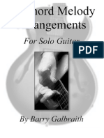 Barry Galbraith - 42 Chord Melody Arrangements Solo Guitar