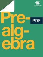 Prealgebra OP