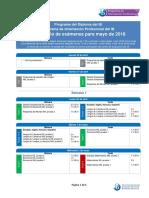 Dp Cp Exam Schedule May 2018 Es