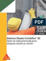 Sistem Pentru Etansarea Rosturilor Si a Fisurilor Sikadur Combiflex SG
