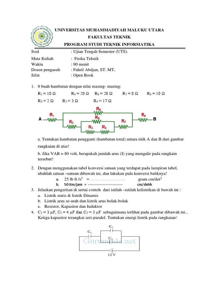Contoh Soal Tes Masuk Perguruan Tinggi Swasta Jurusan Akuntansi