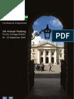 ISNE Programme 2010 2.0
