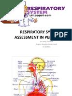 Respiratory System Assessment in Pediatrics Ref
