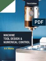 Machine tool design