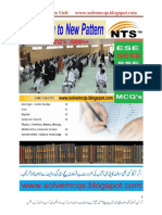 NTS Test Preprations MCQs Book