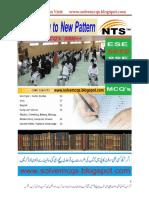 NTS Test Preprations MCQs Book