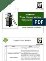 Solid Waste Disposal Machine